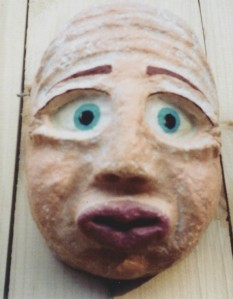 decorative wall mask with personality story